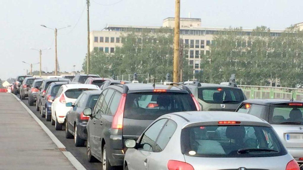 circulation dans Rouen