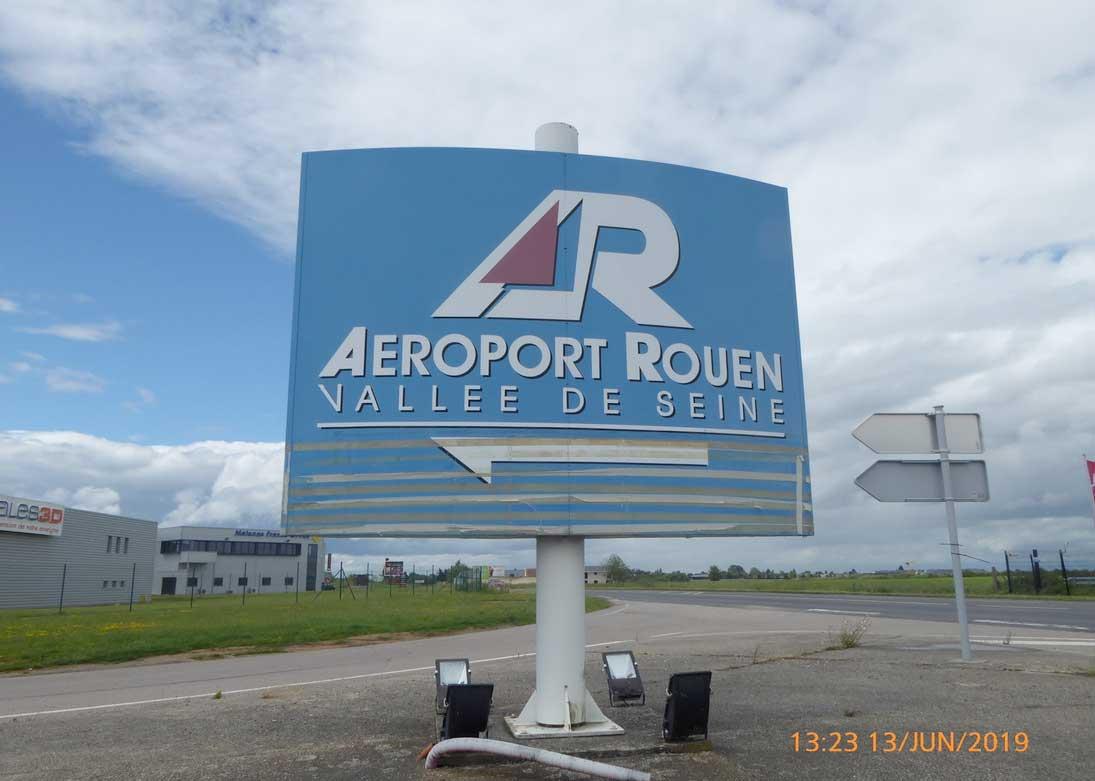 aéroport Rouen Vallée de Seine