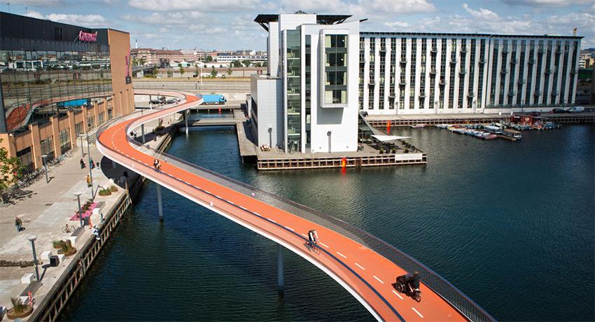 une autoroute à vélo, Copenhague