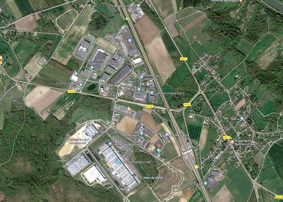 Ecoparcs 2 et 3 : la zone logistique d'Heudebouville