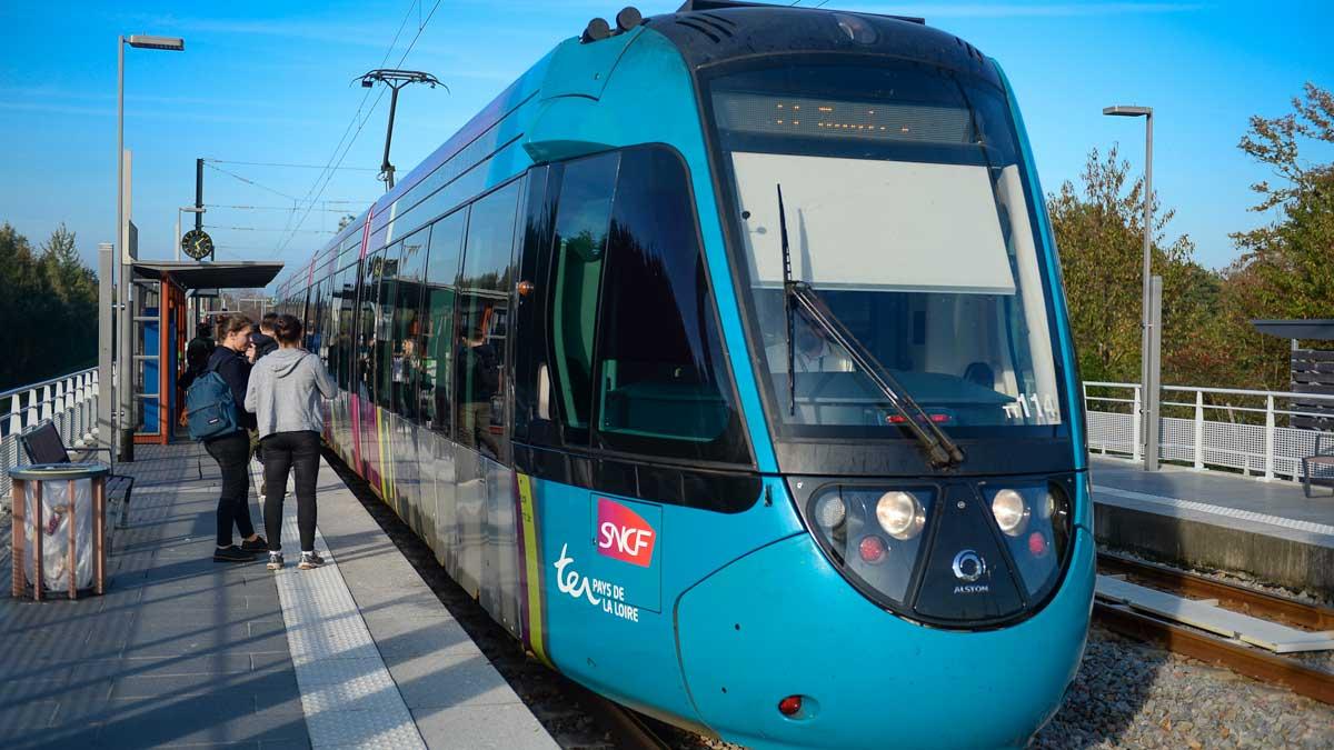 tram-train Rouen-Évreux
